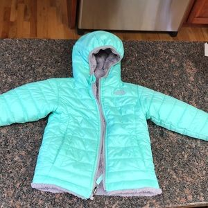 The North Face Toddler Coat size 3T reversible